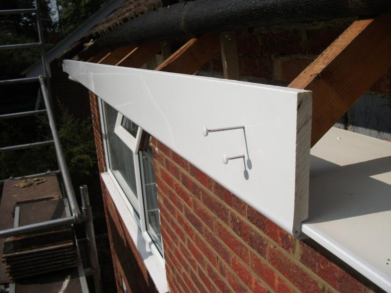 Replacement gutter job in Ainsdale